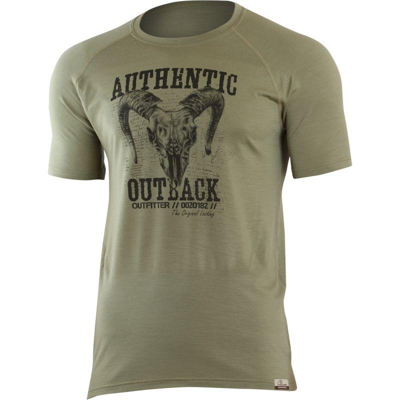 5bc1d94aaa4 MERINO LASTING HENRY pánské merino tričko s krátkým rukávem