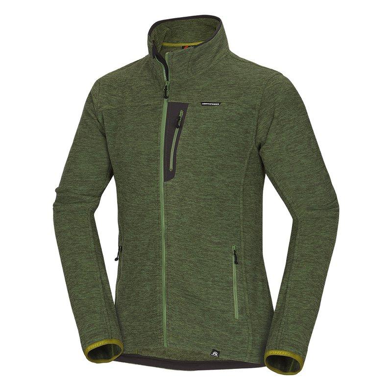 NorthPolar® Fleece 200 melange flece JAIME - pánská mikina ca129169b6